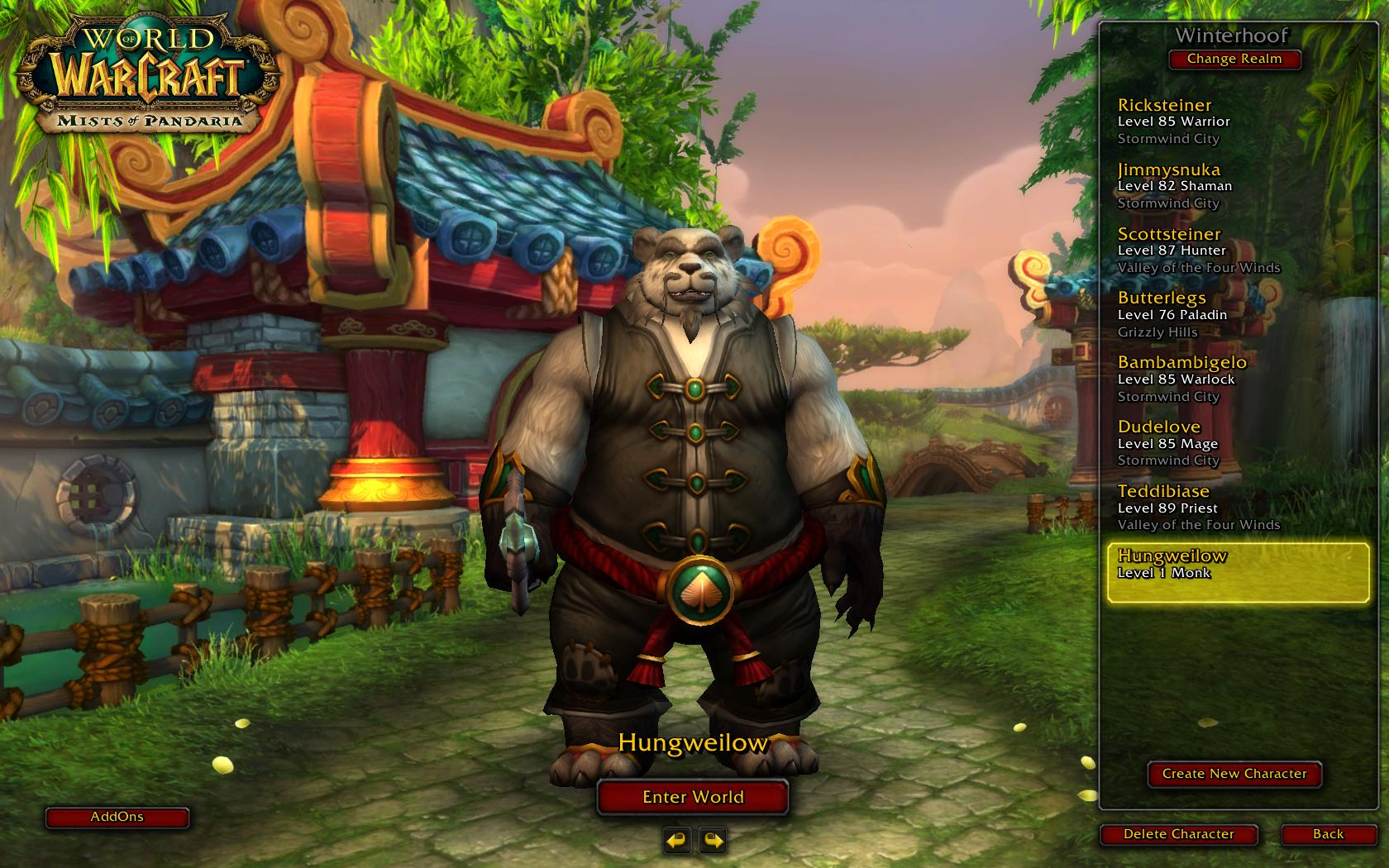 New Panda Monk | Mr  Picky Pants